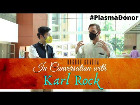 MLA #RaghavChadha in Conversation with #PlasmaDonor @Karl Rock