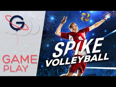 SPIKE VOLLEYBALL : Simulation de volley en salle ! – Gameplay FR