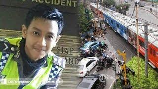 Selamatkan Pengendara Motor dari Bahaya, Polisi Ganteng Malah Tersambar Kereta, Ini Foto Terakhirnya
