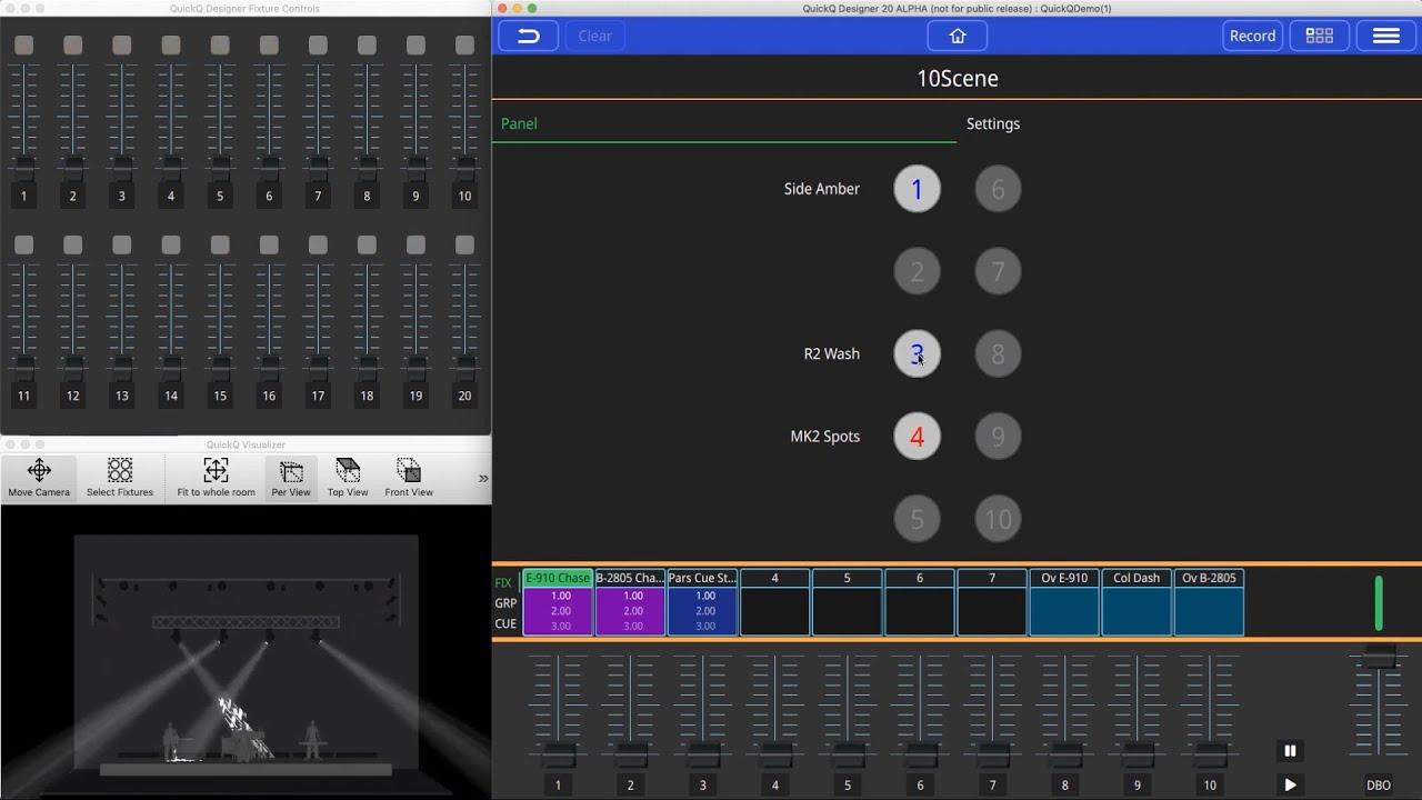 QuickQ: 10Scene Software Setup