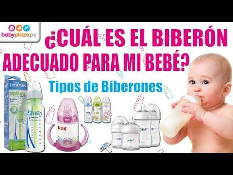 ¿Cuál es el biberón adecuado para mi bebé? | Tipos de Biberones | BabyPlaza