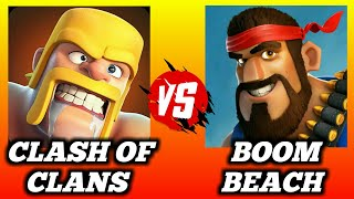 Clash of Clans Vs Boom Beach|Hero's|Troops|Gameplay 👍