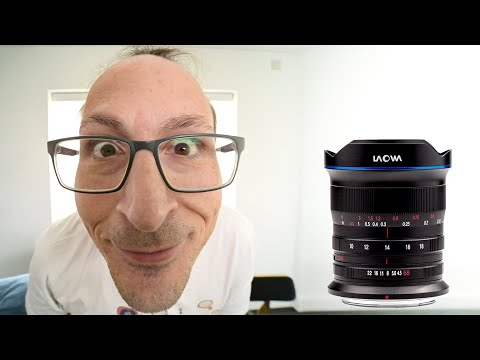 Widest Zoom lens ever! 10-18mm Laowa