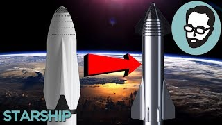 The Evolution Of The SpaceX Starship | Answers With Joe