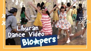 Zara Leola - Liburan (Dance Video) | Bloopers