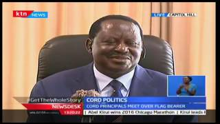 KTN News Desk: CORD leader Raila clarifies the scheduled meeting to decide flag bearer, 10/10/16