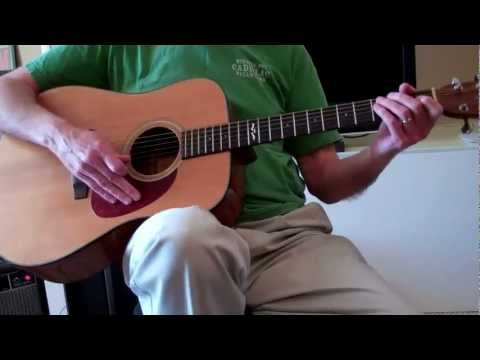 Easy Guitar Chord Lessons  E-A-B7 for Beginners