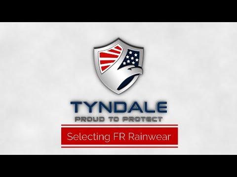 Selecting FR Rainwear