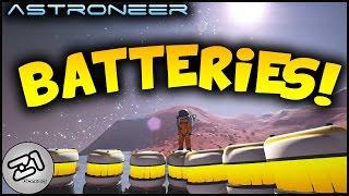 Astroneer Update 155 Batteries EVERYWHERE !! Lets play astroneer game | Z1 Gaming