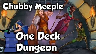 One Deck Dungeon Review - with The Chubby Meeple