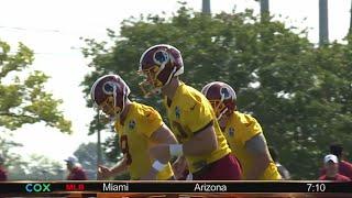 Redskins face 3-way quarterback competition