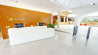 Microsoft Offices -Microsoft Corporate Offices -Inside  Videos/View