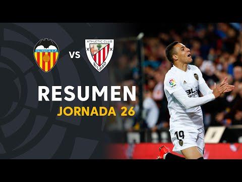 Resumen 2018-19 Valencia CF vs Athletic Club (2-0)