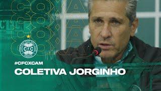 #CFCxCAM - Coletiva Jorginho