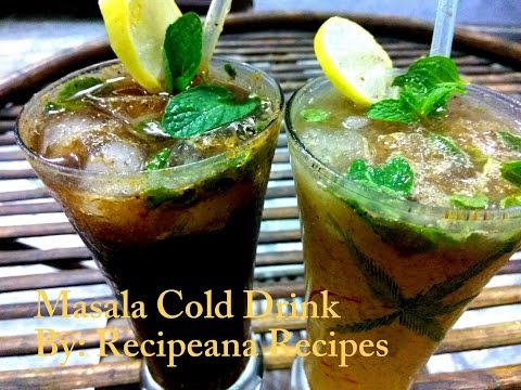 Masala Cold Drink | Summer Drink | Recipeana