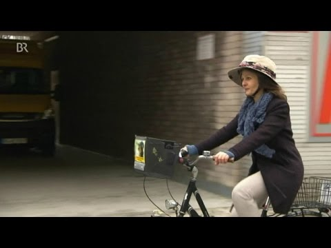 Sicher Radeln: Hübscher mit Helm-Hut | BR24
