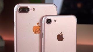 Apple iPhone 7 vs 7 Plus: Preview