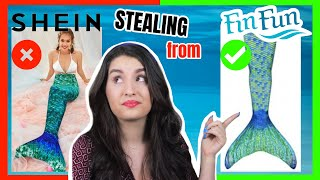 THE TRUTH ABOUT BOOTLEG MERMAID TAILS - WARNING: DONT BUY THEM!