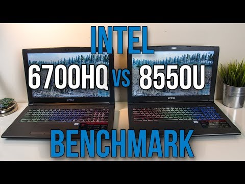 8550U vs 6700HQ – Laptop CPU Comparison and Benchmarks
