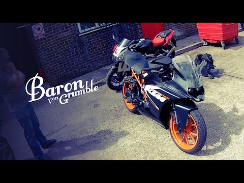 125's are AWESOME. KTM RC125 vs Aprilia RS125