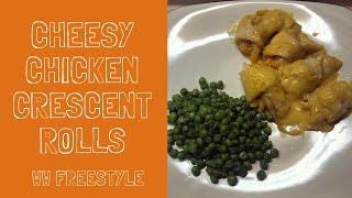 Cheesy Chicken Crescent Rolls WW Freestyle