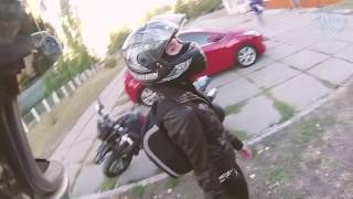 Мотоциклисту отрубили руку