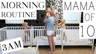 MY MORNING ROUTINE With 10 CHILDREN   ( PART 13 )