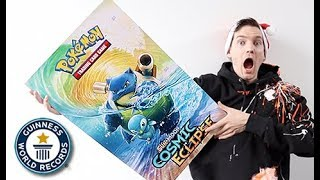 Pokemon Sent Me *THE WORLD'S BIGGEST BOOSTER PACK*