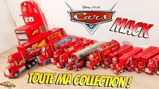 Disney Cars Mack Truck Huge Collection Toys Unboxing Lightning McQueen