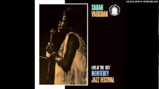 SARAH VAUGHAN-MAKE IT EASY ON YOURSELF