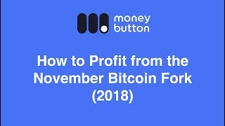 How to Profit from the November Bitcoin Fork (2018)