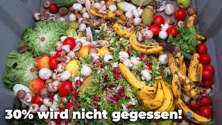 Das große Verschwenden von Lebensmitteln! 220 kg Essen schmeißt jeder Deutsche weg! - Clixoom nature