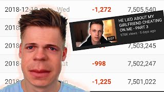 "Caspar Lee's Road To IRRELEVANCY! (most Cringe ""beef"" On YouTube)"