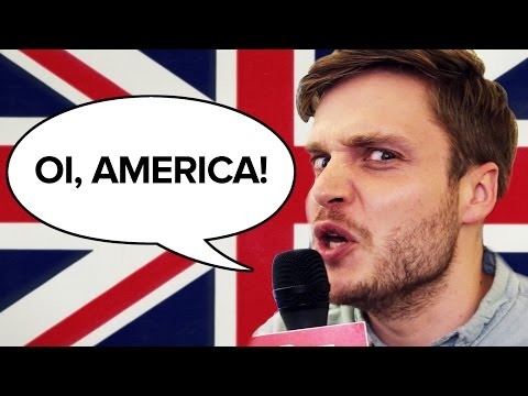 Questions Brits Have For Americans