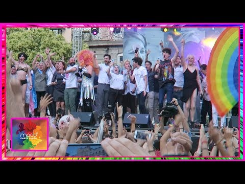 Pregón Orgullo 2018 Madrid y pido perdón a Agoney - Madrid Pride VLOG #1 I edusanzmurillo