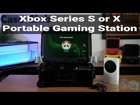 Xbox Series X & S Portable Gaming Station with Built-in Monitor - Featured Youtube Video