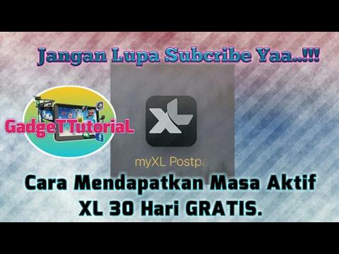 Video Cara Mendapatkan Masa Aktif XL 30 Hari GRATIS || MyXL Postpaid Paket Tribe