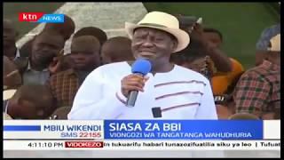 Viongozi wa Tanga tanga wahudhuria mkutano wa BBI Kitui | MBIU YA KTN WIKENDI
