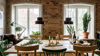 Match Of Scandinavian & Industrial Style, Stockholm Apartment Tour