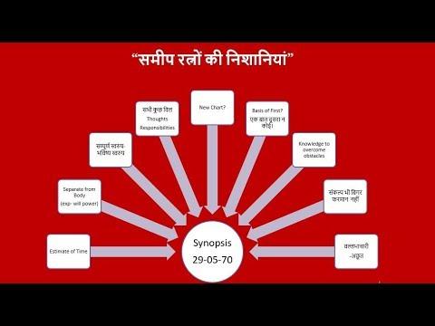"""[58th Murli] - """"समीप रत्नों की निशानियां"""" 29-05-1970- Avyakt Murli Revision (видео)"""