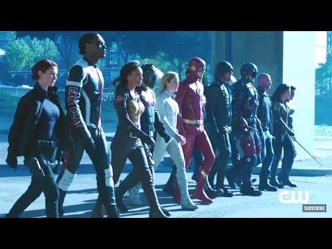 The Flash Season 4 Crossover Events (Full Promo 'Crisis on Earth-X')