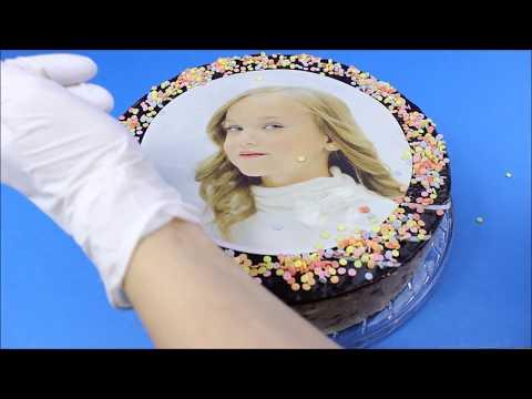 Tortenaufleger richtig anwenden 20 cm Quick Cake®