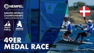 Full 49er Medal Race | Aarhus 2018