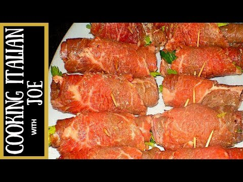 How to Make World's Best Braciole Recipe Cooking Italian with Joe