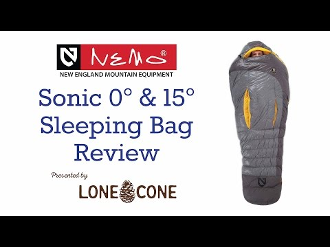 NEMO Sonic Sleeping Bag Review