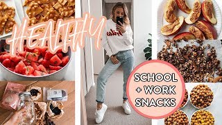 HEALTHY SNACK IDEAS | School, Work, Travel & Meal Prep | GF, DF