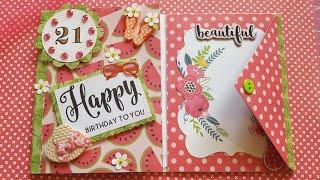 HAPPY BIRTHDAY ENVELOPE FLIP BOOK