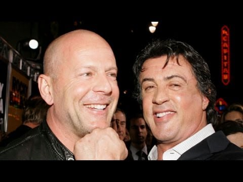 Sylvestor Stallone Slams Bruce Willis, Calls Actor 'Greedy and Lazy' on Twitter