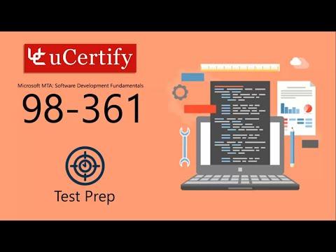 98-361-VT : MTA: Software Development Fundamentals - YouTube