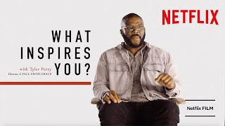 Tyler Perry on What Inspired Him To Make A Fall From Grace | Netflix